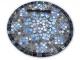 Кованый столик с мозаикой Эрика_28 d40 купить