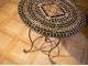 Столик отделанный мозаикой Пикассо_1 D60см купить