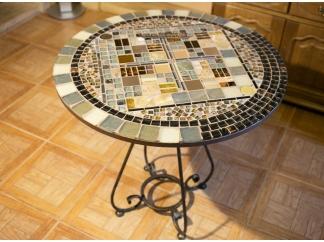 Мозаичный стол Пикассо_3 D70см