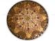 Стол с мозаичной столешницей Золотая лихорадка_1 D70см купить