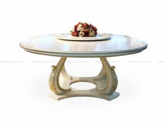 Стол обеденный овальный Фуншал, диаметр 160 см купить