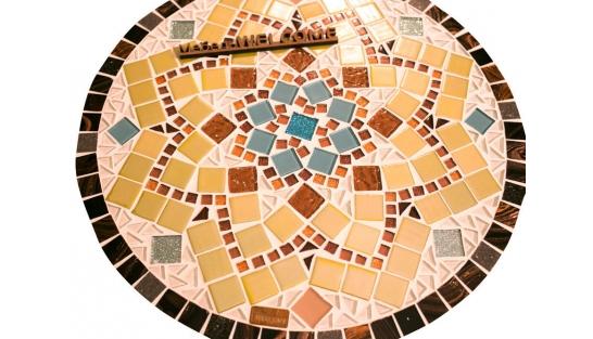 Столик с мозаичной столешницей Эрика_31 d40 купить