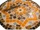 Стол с мозаичной столешницей Эрика_32 d40 купить