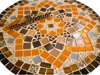 Стол с мозаичной столешницей Эрика_32 d40