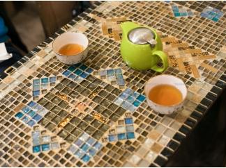 Стол из мозаики Ремих_3 120*50см