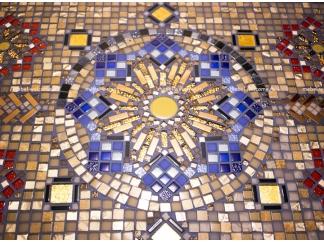 Стол декорированный мозаикой Ремих_9 120*80см