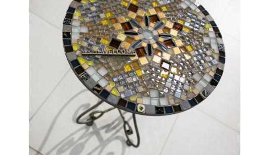 Столик с мозаикой Элиза_15 d50 купить