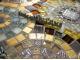 Стол с мозаикой Венский кофе_2К D60см купить
