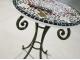 Мозаичный стол Золотая лихорадка_25 d50 купить