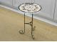 Столик с мозаичной столешницей Эрика_34 d40 купить