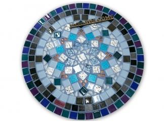 Стол круглый мозаичный Эрика_37 d40