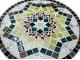 Стол круглый мозаичный Эрика_38 d40 купить