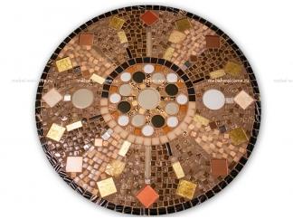 Стол с мозаичной столешницей Пикассо_7 D70см купить