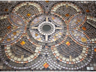 Стол декорированный мозаикой Ремих_10 130*70см