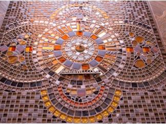 Стол с мозаичной столешницей Квадро_4 75*75см
