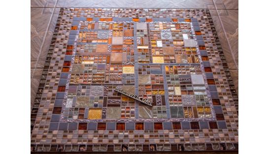 Стол с мозаичной столешницей Квадро_5 75*75см купить