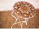 Стол круглый мозаичный Эрика_41 d40 купить