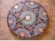 Столик отделанный мозаикой Венский кофе_4 D60см купить