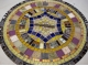 Мозаичный столик Венский кофе_16 D70см купить