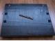 Поднос деревянный с ручками Голубой купить