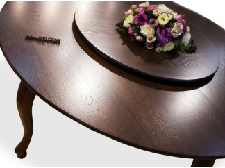 Крутящаяся подставка для стола D50см