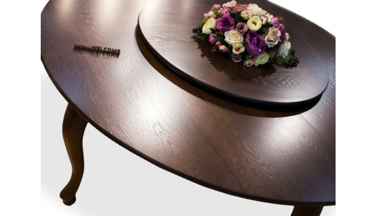 Менажница для стола D80см