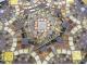 Стол с мозаикой Золотая лихорадка_27 D60см купить