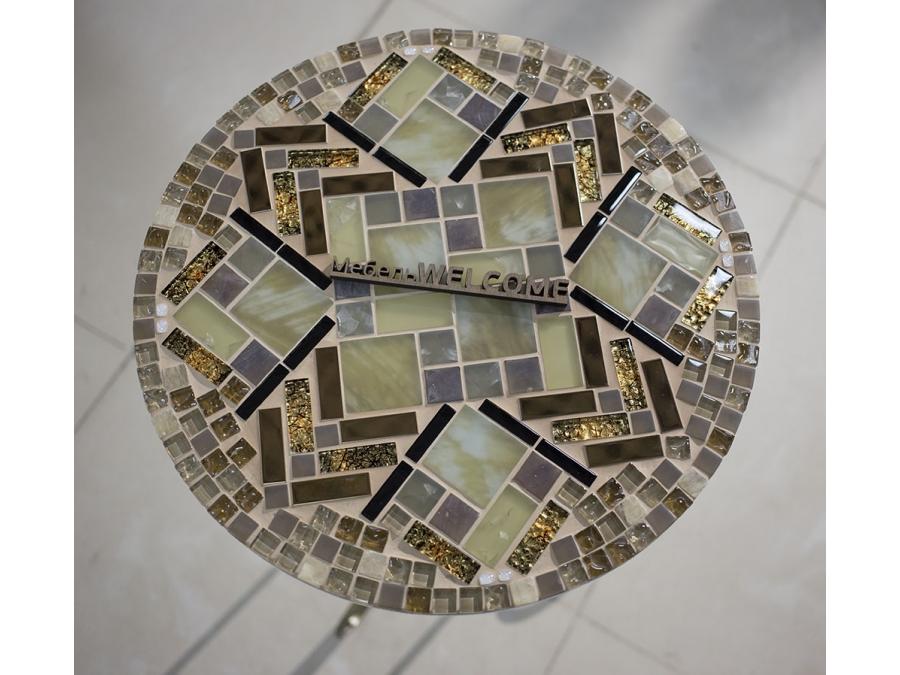 Столики с мозаикой